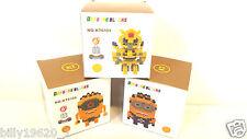 Despicable Set Of Three Minions,NANO  Blocks/LEGO With Designer Box