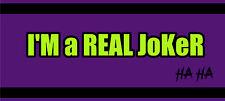 Novelty Magnetic Bumper Stickers DC Comic Theme Batman Joker Harley Quinn & More