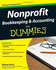 Nonprofit Bookkeeping and Accounting For Dummies by Sharon Farris, (Paperback),