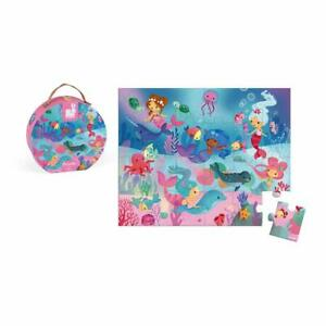 JANOD MERMAID 24 PIECE JIGSAW PUZZLE GREAT GIFT INCLUDES POSTER 50 X 40 CM