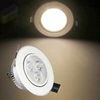 3W 12VDC LED Recessed Energy Saving Ceiling Down Light Lamp Bulb Warm/Cool White