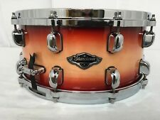 "Tama Starclassic Birch/Bubinga 14"" X 6.5"" Snare Drum/Cherry Natural Burst/New"