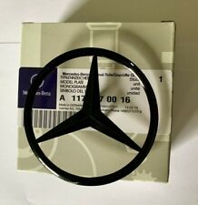 Mercedes CLA W117 Rear Boot Lid Badge Emblem Star - Gloss Black A1178170016 Uk