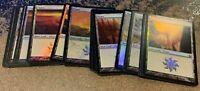 Magic the Gathering Lot - Foil Plains x4
