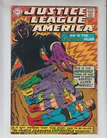 """Justice League of America 59 VG+ (4.5) 12/67 """"The JLA's Impossible Adventure!"""""""