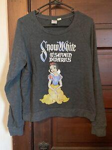 Snow White Sweatshirt L Large Disney Hot Topic NWOT