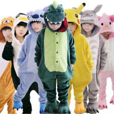 Animal Costume Children Kid Unisex Onesie11 Pajamas Kigurumi Sleepwear Outfit