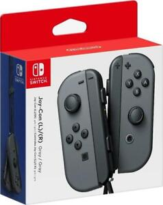 Nintendo Switch Gray Joy-Con (L/R) Wireless Controllers (Ships Same Day!)