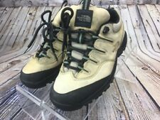 The North Face Womens X-2 Tan Hiking Shoes Size 5.5 Trail Camping Athletic