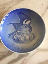 1970 Royal Copenhagen Bing & Grondahl B&G Porcelain Mothers Day Plate Demark