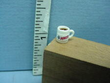 "Dollhouse Miniature Coffee Mug Filled #59974 Hudson River 1/2"" (1:24) Scale"