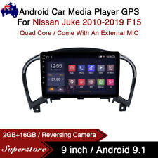 """9"""" Android 10.1 Car Stereo Media Player GPS Head Unit For Nissan Juke F15 10-19"""
