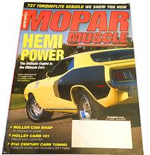 MOPAR MUSCLE NOVEMBER 2005, MOPAR, CHARGER, HEMI