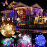 10M 110V 100 LED Waterproof Icicle LED String Lights Connectable with Tail Plug
