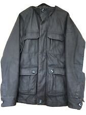 Mens Fat Face Brown Jacket Size L