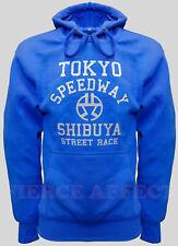 Pullover Hoodie Hooded Sweatshirt TOKYO STREET RACE Design Top Hoody Jumper