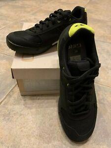 Womens Giro Petra VR Cycling Shoes Black/Wild Lime US Size 7.5 (EU 39)