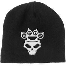 Five Finger Death Punch Unisex Gorro: Nudillo-Plumero Logo & Calavera