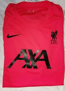 LIVERPOOL FC RED STRIKE TRAINING JERSEY 2020/21 SIZE LARGE