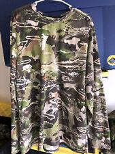 Under Armour Threadborne 3XL Ridge Reaper Forest Long Sleeve