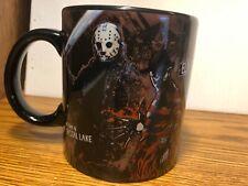 Freddy Vs. Jason Rare Coffee Cup Mug Jumbo Horror Friday the 13th Nightmare Elm