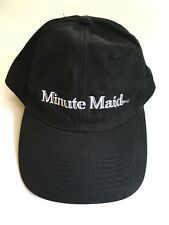 Minute Maid Baseball Cap, One Size Fits All, Black - NWOT