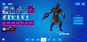 FN Account +100 Skins +3 Exclusive skins (1 suprise skin) + Rare Items PS4 & PC