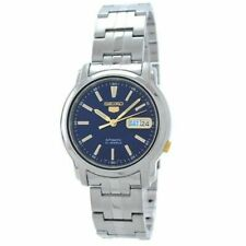 Seiko 5 Snkl79 Stainless Steel Band Automatic Men's Blue Watch SNKL79K1