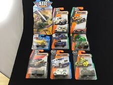 L@@K!! (7) MATCHBOX, (1) MAISTO, AND (1) AIR COLLECTION.  BRAND NEW IN PACKAGE