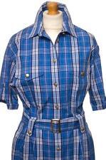 BURBERRY DRESS 100% COTTON UK 14 US 10 EU 40 FR 42 I 46 LARGE  MINT FIRST CLASS
