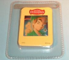 Walt Disney'S Peter Pan Promo Pin Back Button Animated Action Button W/ Battery