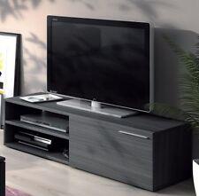 Liona TV Unit Living Room Furniture Module 1 Door 2 Shelves Grey Ash Melamine