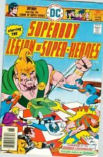 Superboy and the Legion of Super-Heroes #217 VG+ June 1976