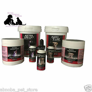 Nettex Life line Survival Kit Colostrum Vet Nutridrops Kitten Breeder Puppy Stim