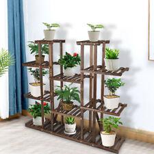 Heavy Duty Large Plant Stand Indoor Outdoor Planter Flower Holder Shelf Rack USA