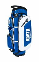 AFL Golf Club Bag - North Melbourne Kangaroos - Zip Pockets Umbrella Holster