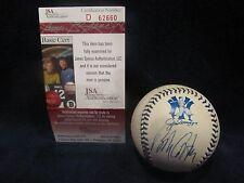 Bob Costas Autographed Joe DiMaggio Logo OAL (Budig) Baseball - JSA Cert