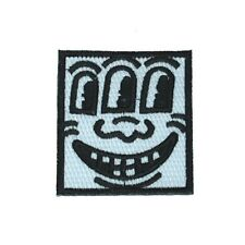 THREE EYED FACE PATCH : KEITH HARING : NEW : koons hirst