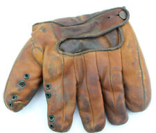Vintage Leather Wilson Baseball Glove Model 617 Professional Model U.S.A.