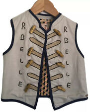 Scotch R'Belle 4 Girls Sun Wonder Military Style Vest $99 NWT Kids