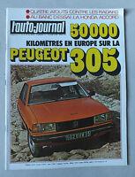 L AUTO JOURNAL - BIMENSUEL N° 11 - 15 JUIN 1978 *