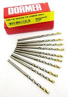 Dormer 2.00MM HSS Tin Coated Tip Jobber Drill Pk Of 10
