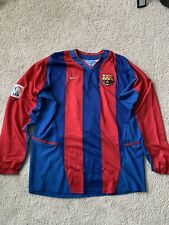 Barcelona Patrick Kluivert 9 Jersey Large Soccer