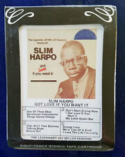 Slim Harpo - Got Love If You Want It - Jay Miller Vo 20 - 8006 - Sealed 8-Track