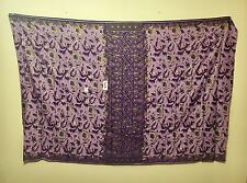NEW Batik Sarong Purple 100% Cotton Wrap Skirt Swim Cover Up Fabric Bali NWT