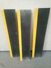 Rust-Oleum 271796 3 Pk 10 In D 48 In W Yellow/Black Stair Tread Cover