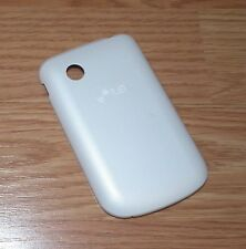 *Replacement* White Battery Cover / Door Only For LG LN280W Cell Phone **READ**