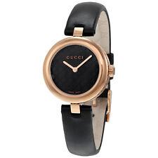 Gucci Diamantissima Black Diamante Dial Ladies Watch YA141501