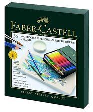 Faber-castell albrecht durer aquarelle crayons boîte cadeau x 36 couleurs & brosse