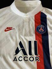 Nike Paris Saint-Germain 19/20 Vaporknit Size XL Jersey AR9345-102 NEYMAR MBAPPE